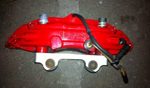 993 Tubo Brake Calipers / Bremszangen mit Adapter