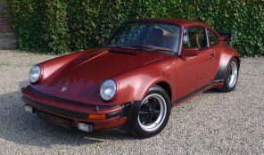 Porsche 930 Turbo, only three owners, 61000KMS, matching numbers