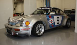 Porsche 911 Martini racer new HTP/FIA papers