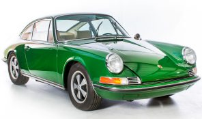 Porsche 911T 1970 Coupe 2.2 Engine LHD Manual Gearbox Irish Green