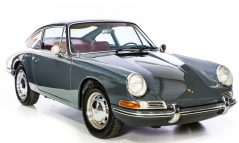 Porsche 912 1966 Slat Grey Coupe LHD Manual Red Interior