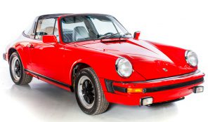 Porsche 911SC 1982 Targa 3.0L Engine Manual Gearbox LHD Guards Red