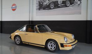 PORSCHE 911 911S 2.7 Targa Rare Colour Combination (1974)